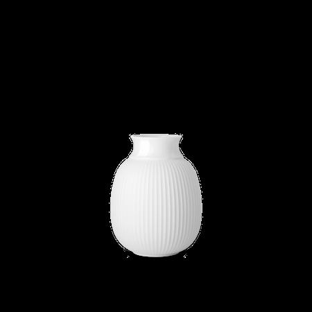 Curve Vase Porselen Hvit 12cm
