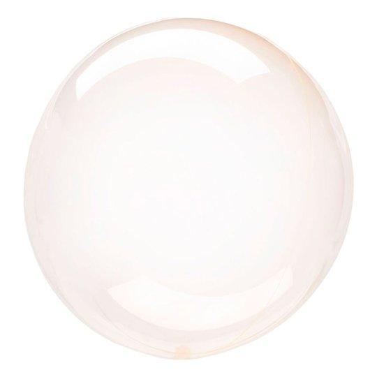 Klotballong Orange Transparent - 1-pack