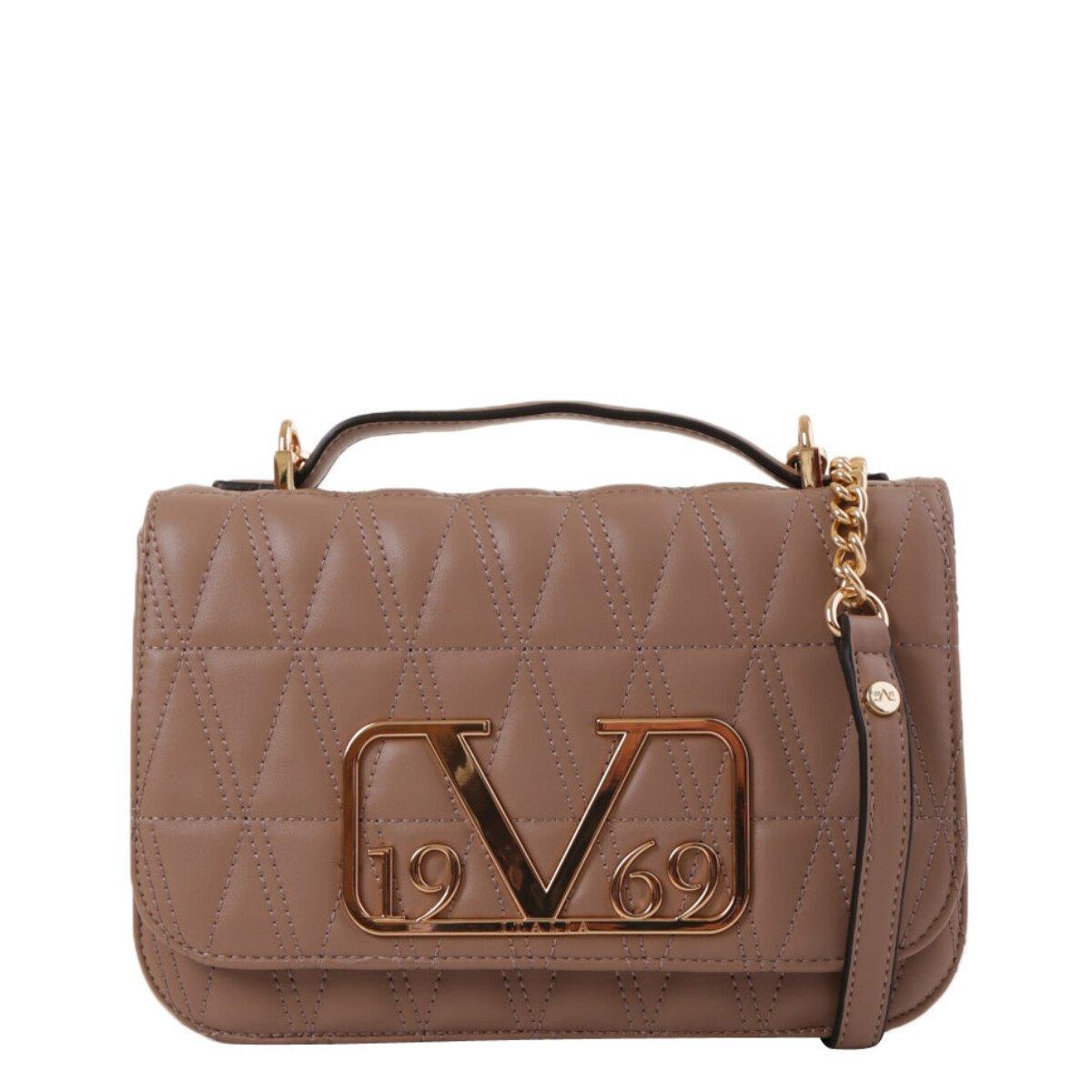 19v69 Italia Women's Shoulder Bag Various Colours 318906 - beige UNICA