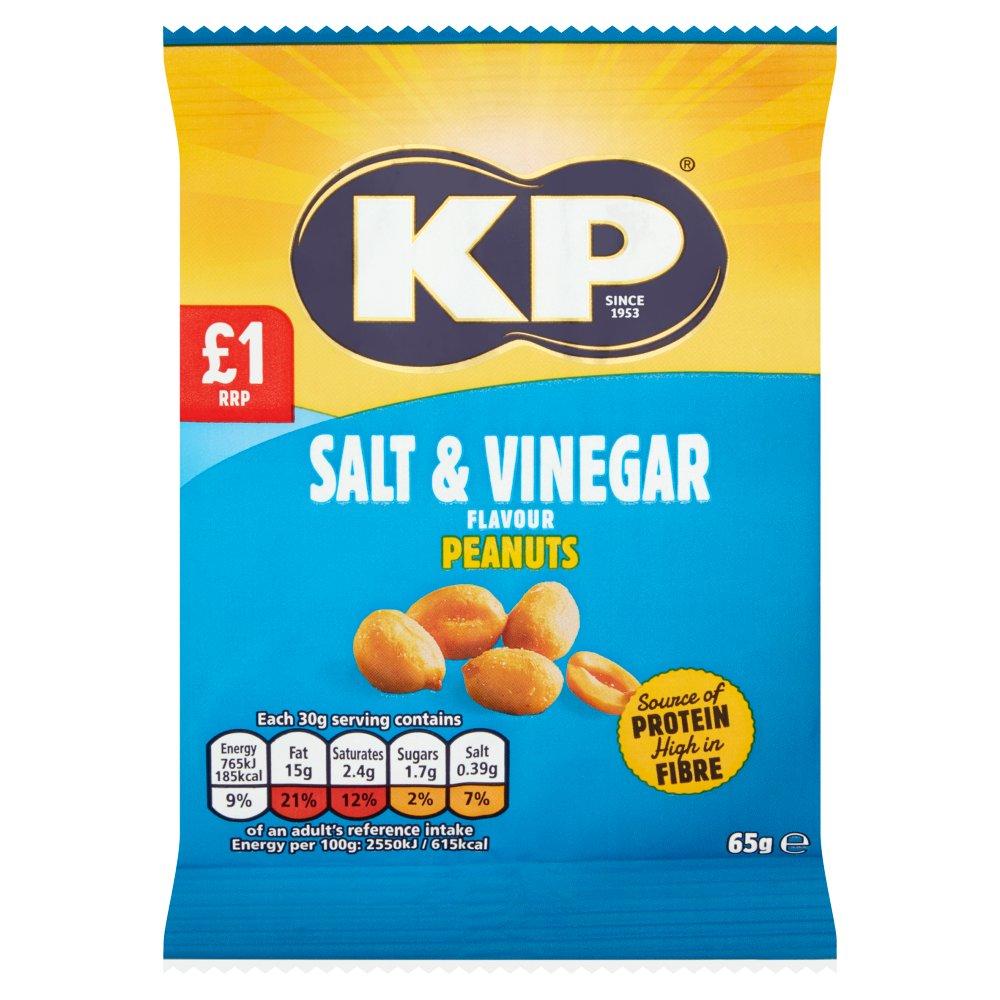 Kp Salt & Vinegar Flavor Peanuts 65g