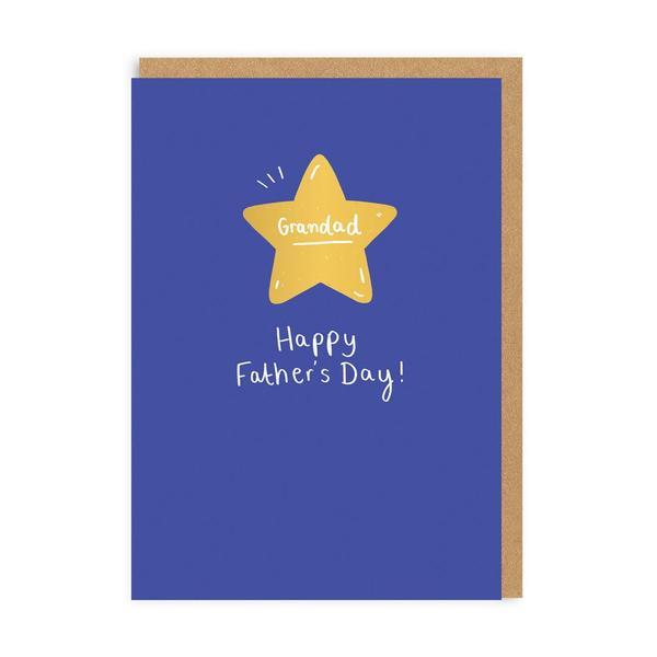 Grandad Star Father's Day Greeting Card