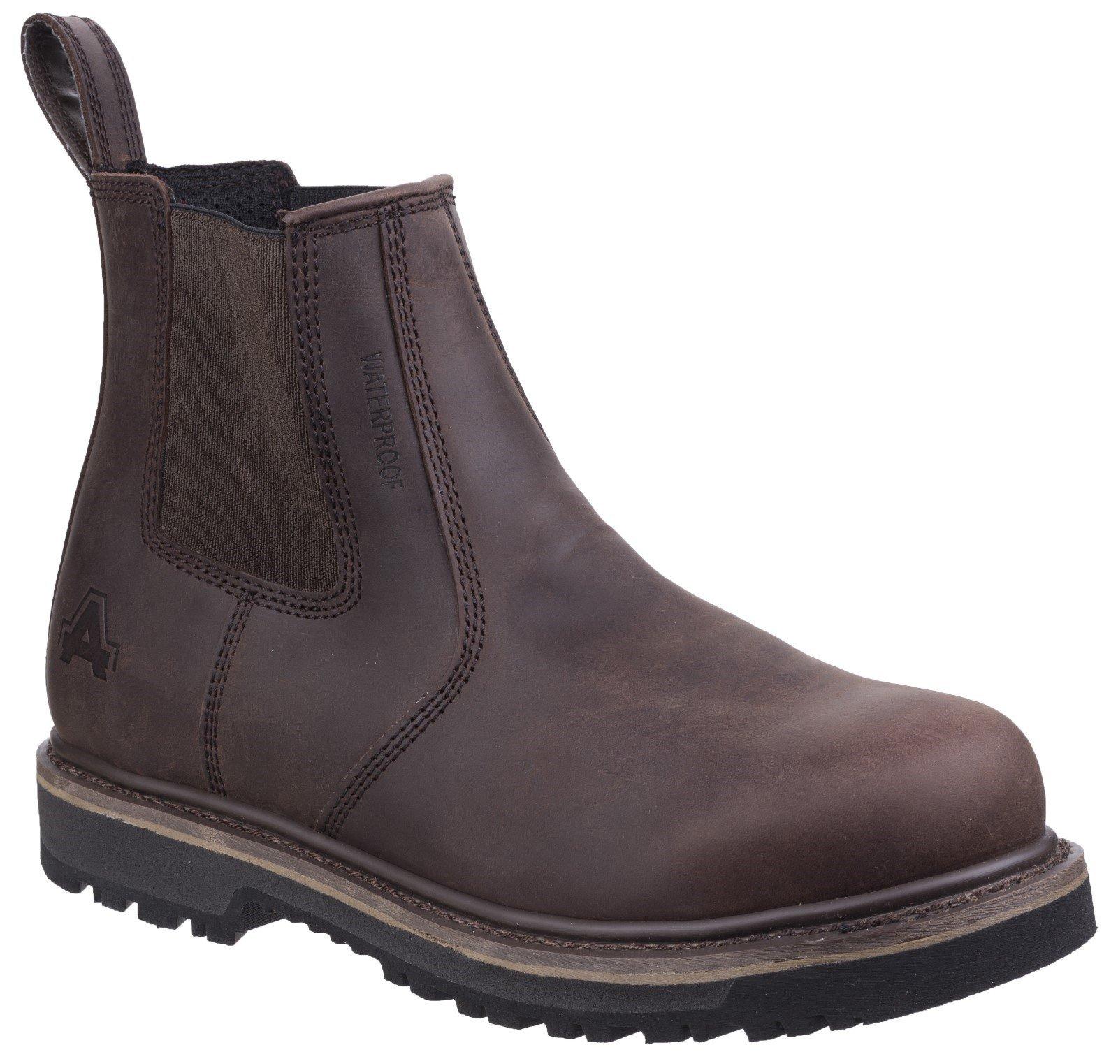 Amblers Men's Carlisle Dealer Boot Brown 27120-45558 - Brown 6