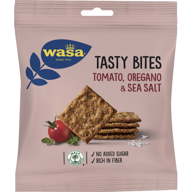 Knäckebrödsbitar Tomato, Oregano & Sea Salt - 23% rabatt