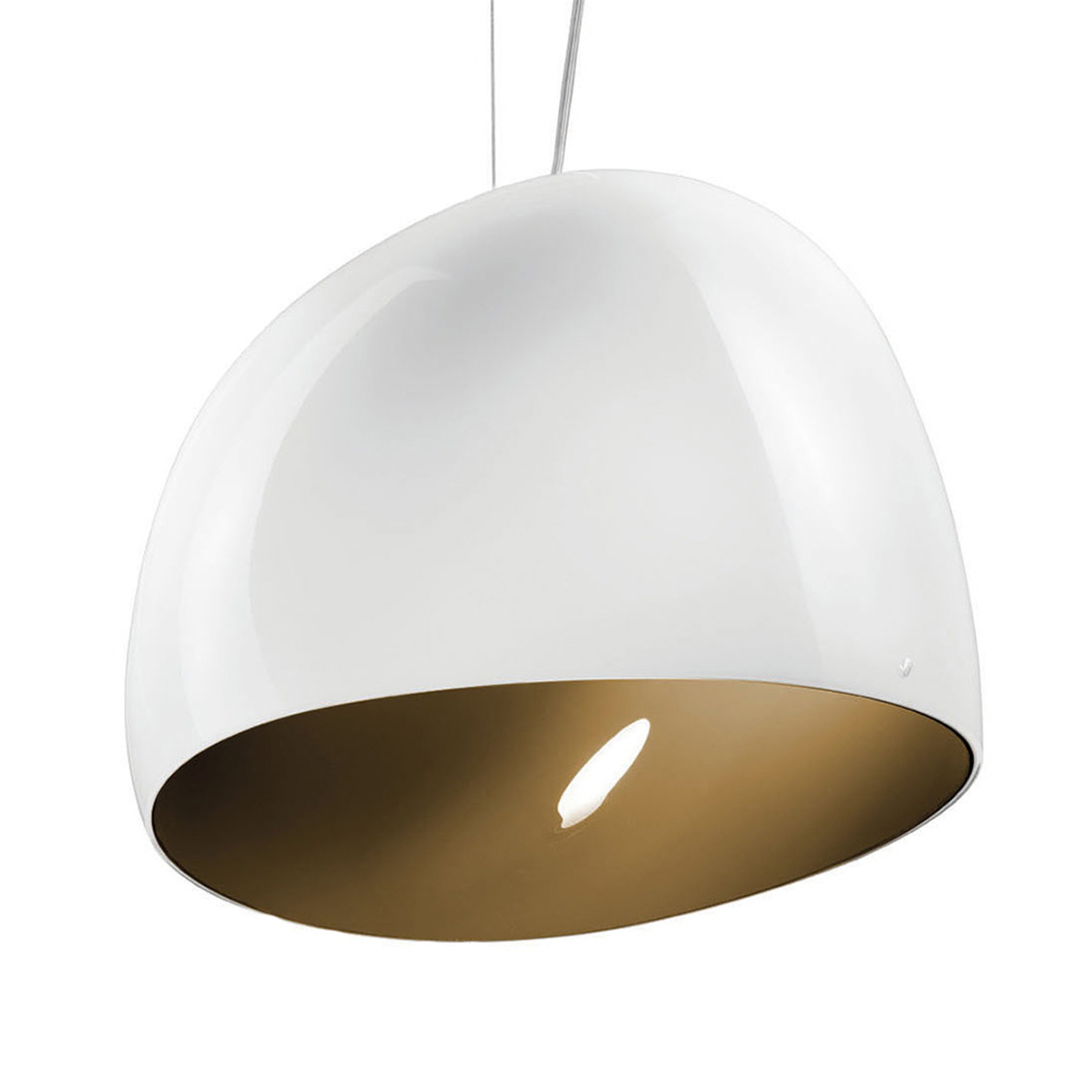 Riippuvalo Surface Ø 40 cm E27 valkoinen/ruskea