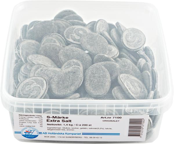 S-Märke Extra Salt 1.4kg