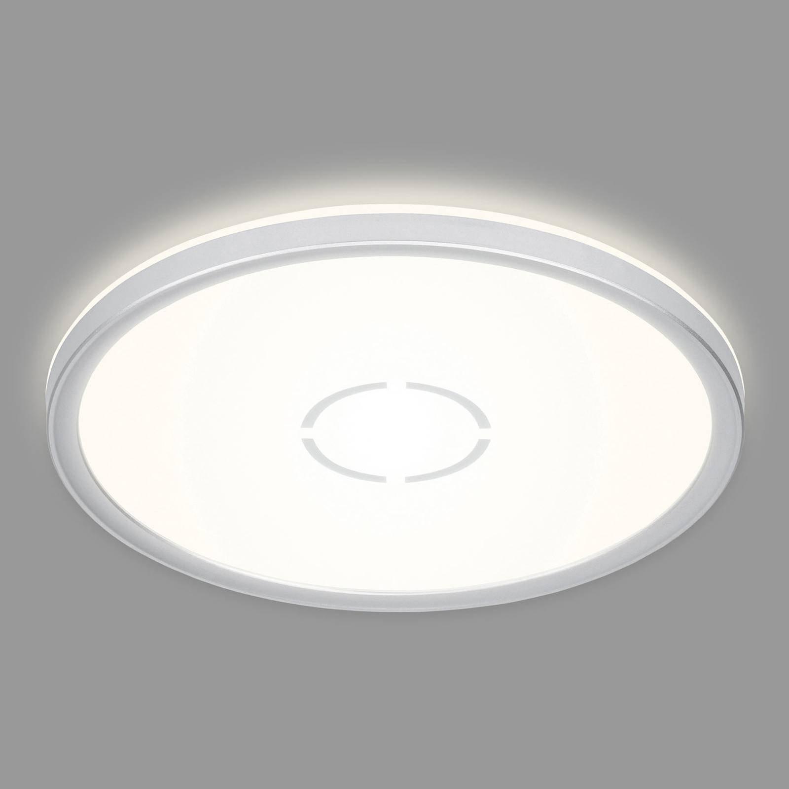 LED-taklampe Free Ø 29 cm, sølv