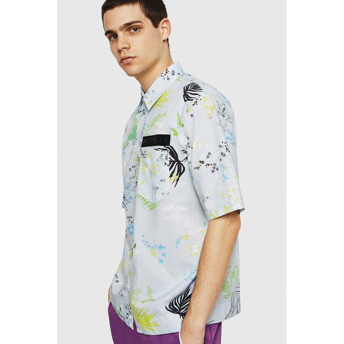 Diesel Men's Shirt Multicolor 287426 - multicolor S