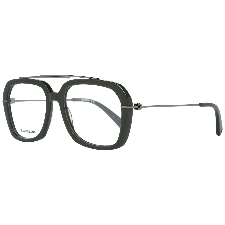 Dsquared² Men's Optical Frames Eyewear Olive DQ5264 54096