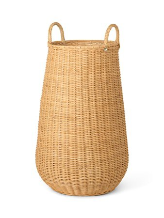 Braided Laundry Basket – Natural