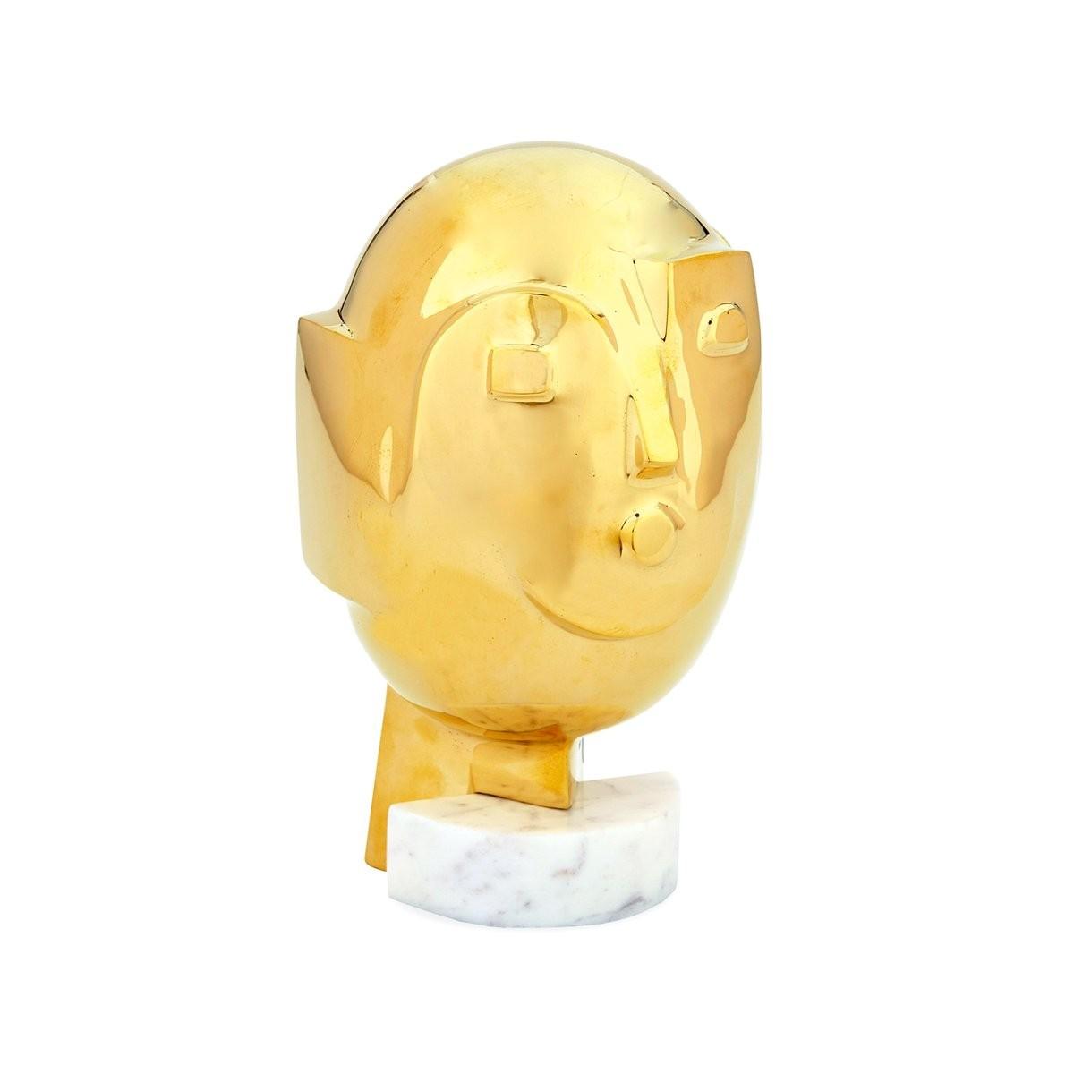 Jonathan Adler I Metropolis Brass Sculpture   Small
