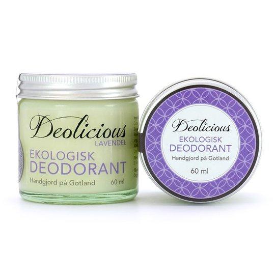 Deolicious Ekologisk Deodorant Lavendel, 60 ml