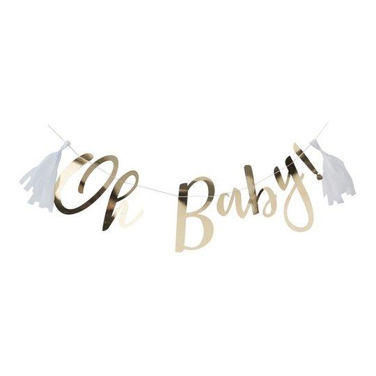 Girlang Oh Baby Guld Metallic