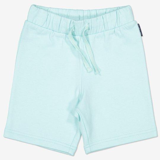 Ensfarget shorts turkis