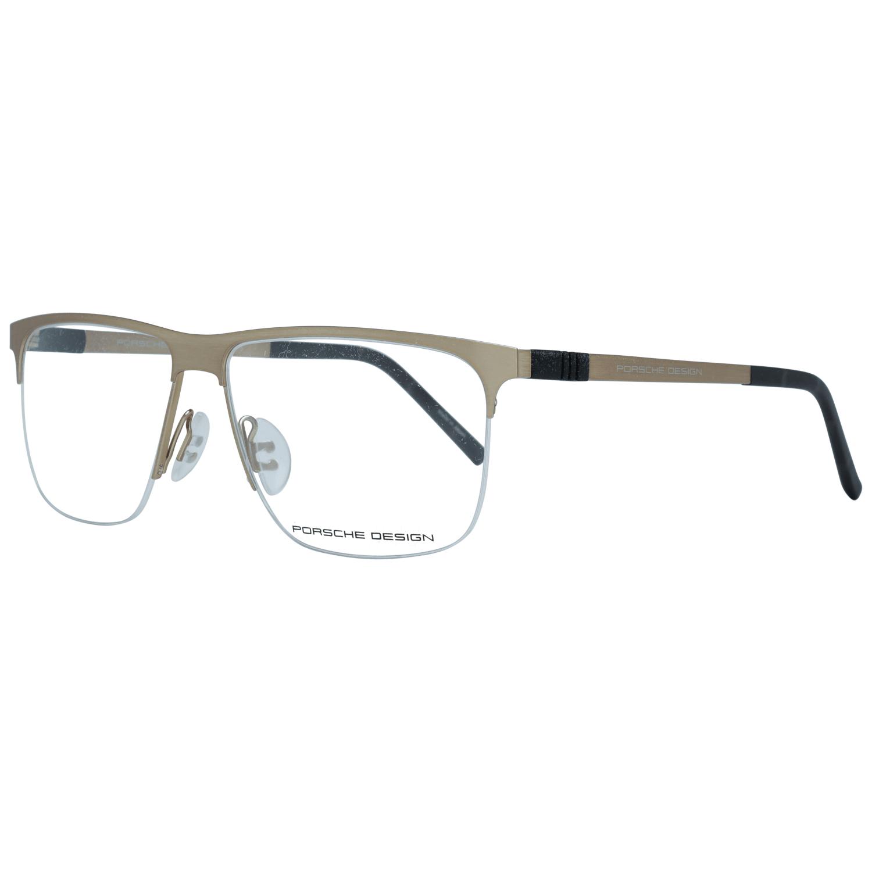 Porsche Design Men's Optical Frames Eyewear Gold P8324 57B