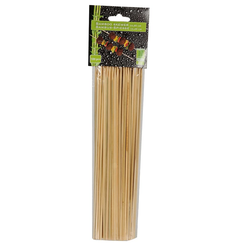 Grillspett i Bambu 25 cm 100-pack