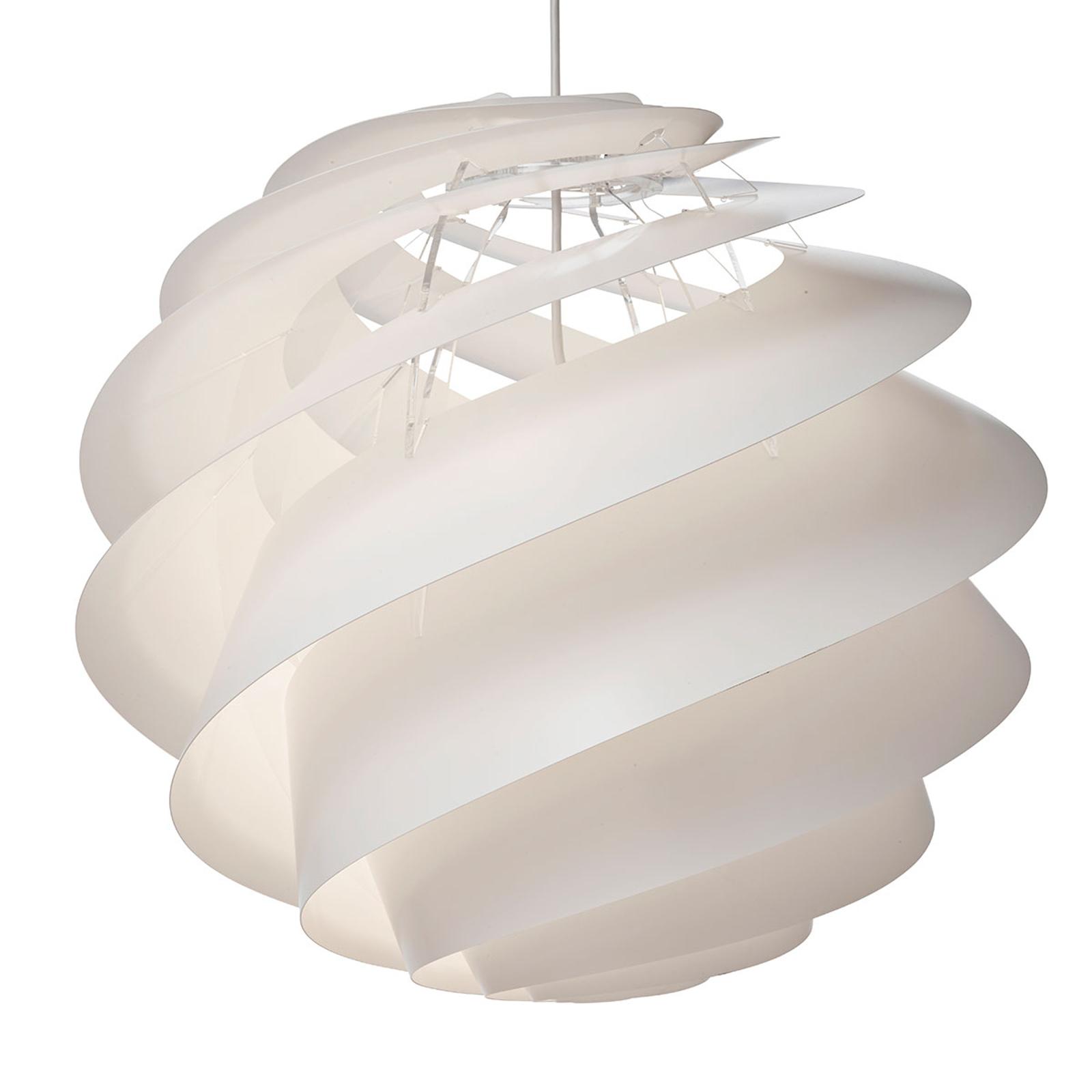 LE KLINT Swirl 3 Large -riippuvalaisin, valkoinen