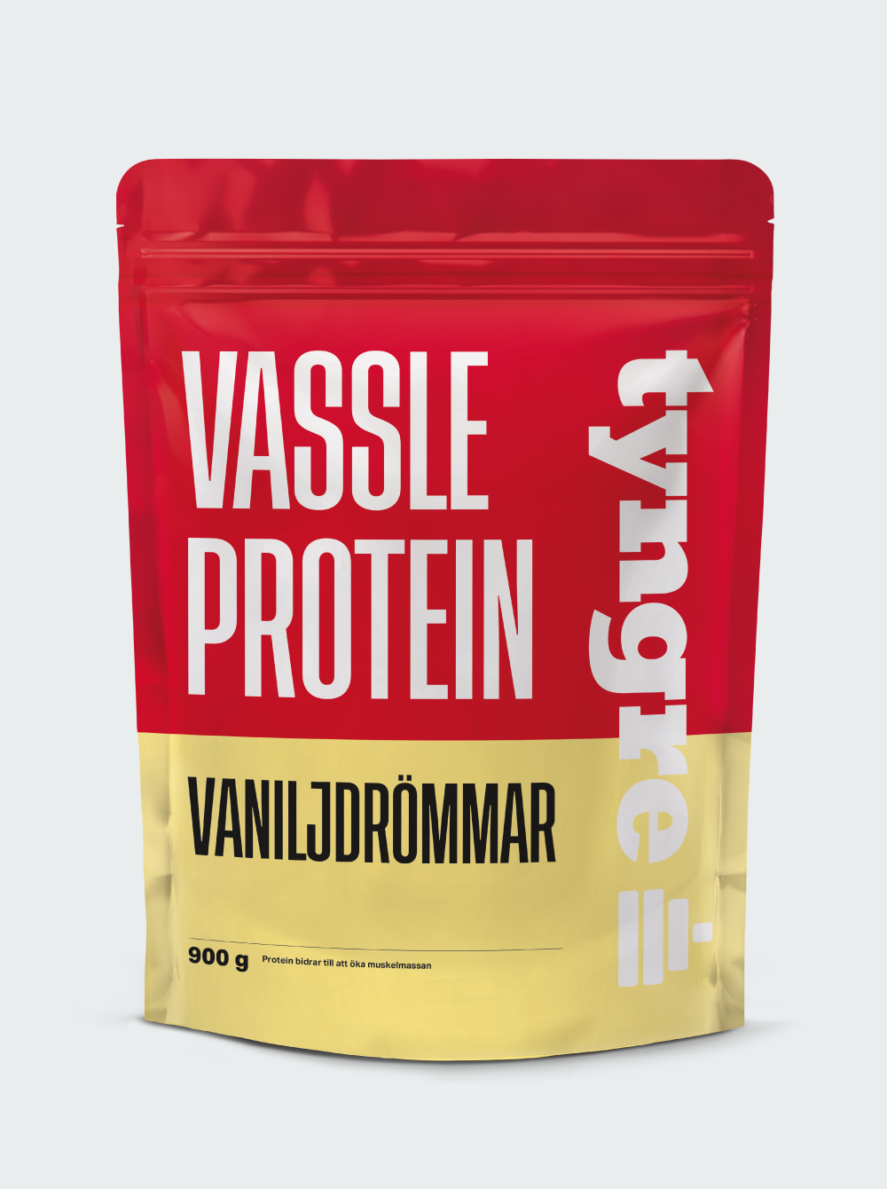 Tyngre Vassleprotein - Vaniljdrömmar 900g