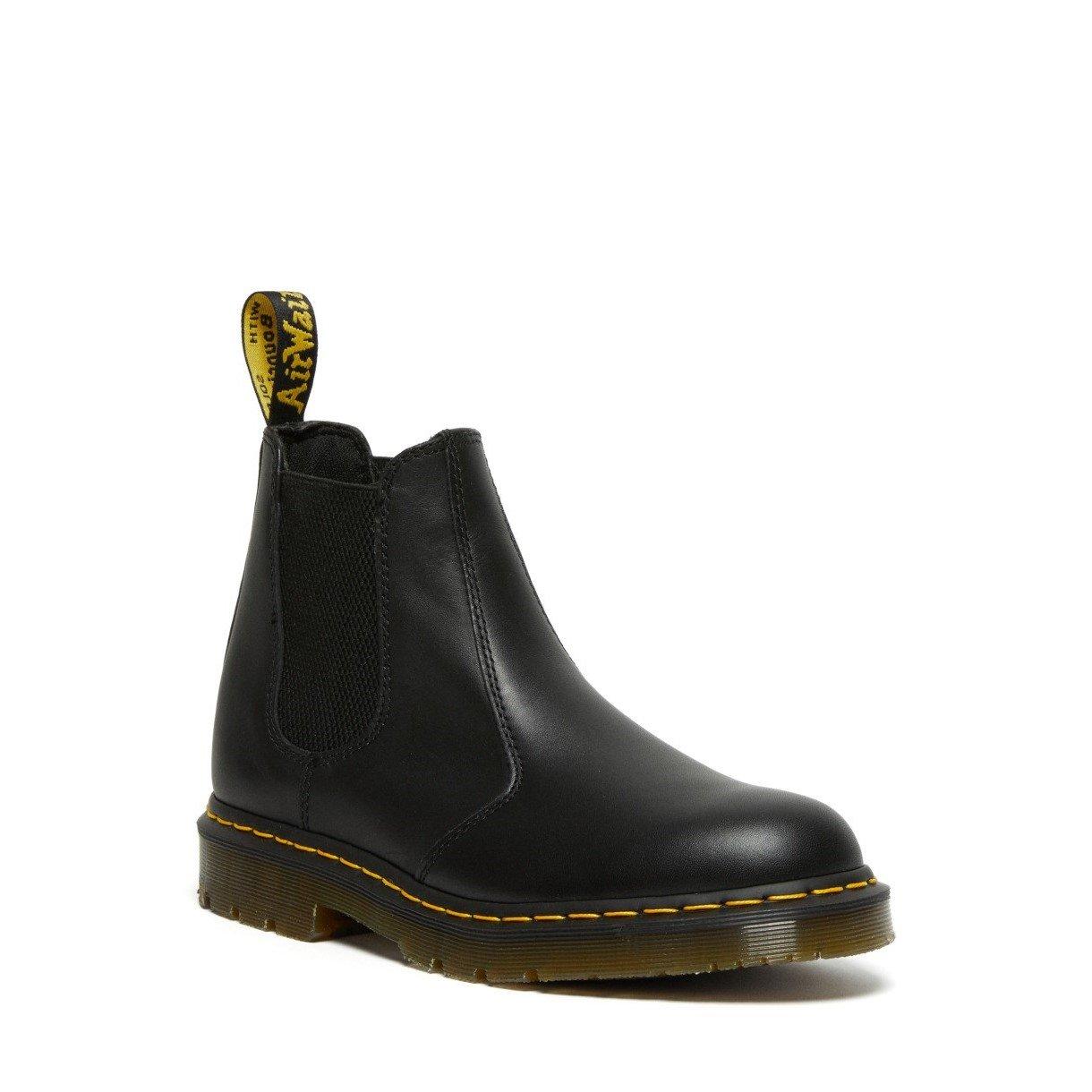 Dr Martens Unisex Slip Resistant Leather Chelsea Boots Black 34023 - Black 3