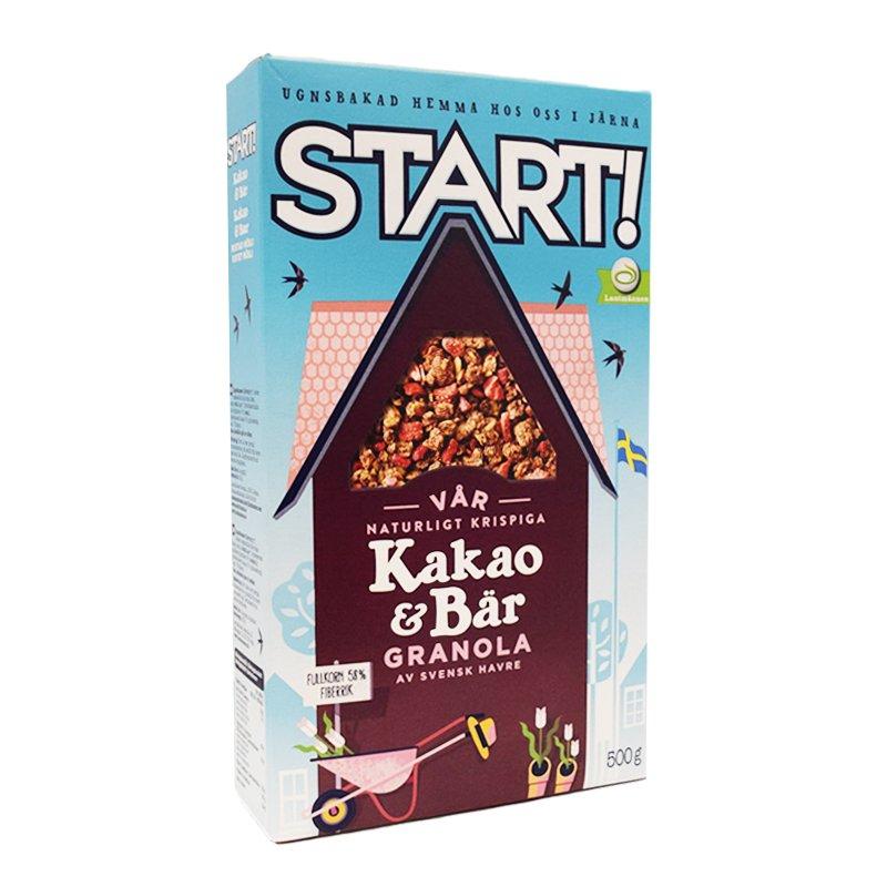 Granola Kaakao & Marjat 500g - 38% alennus