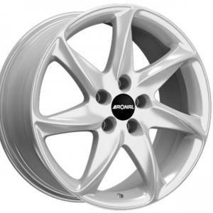 Ronal R51 Silver 7x16 5/108 ET45 B76