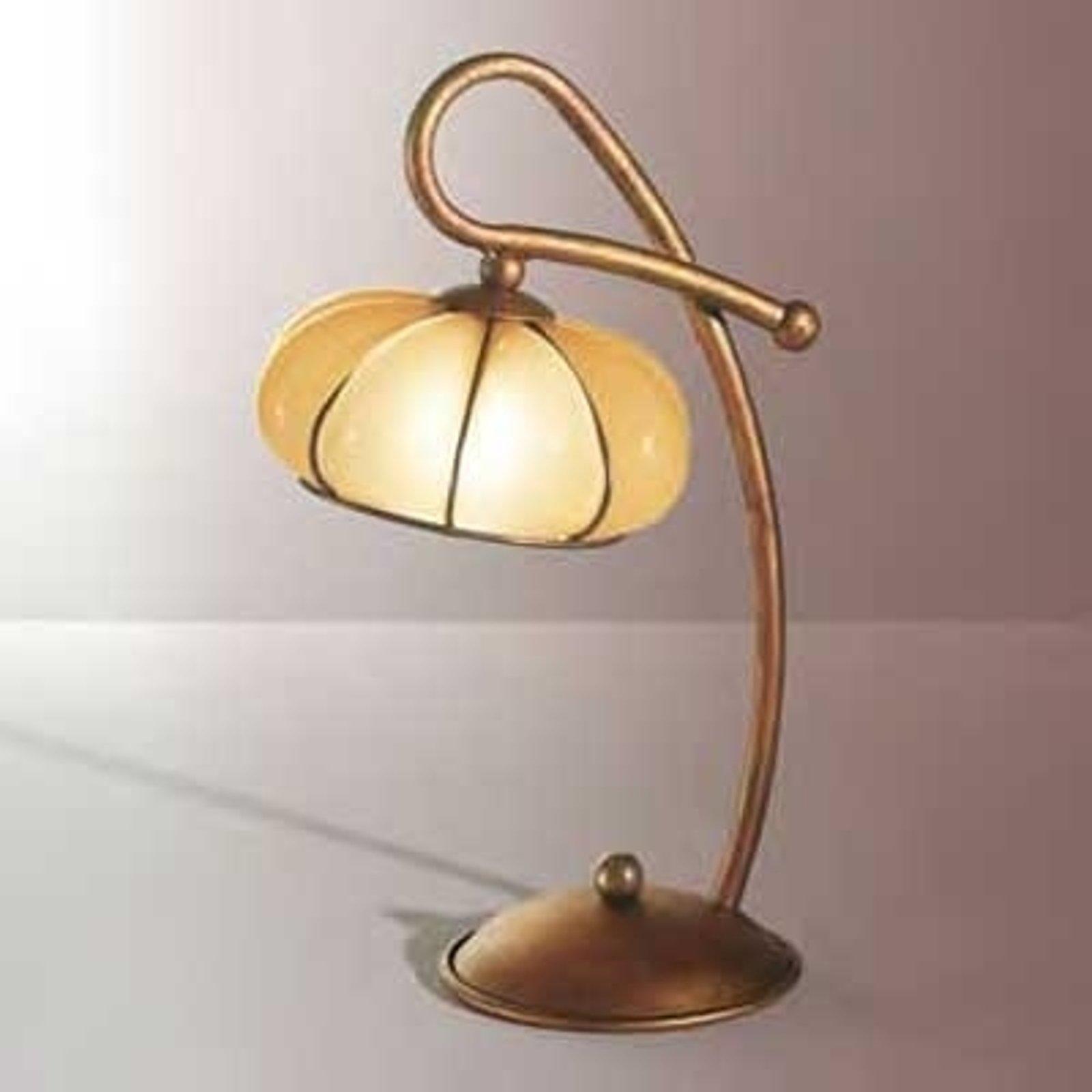 Klassisk bordlampe LOTO håndarbeid