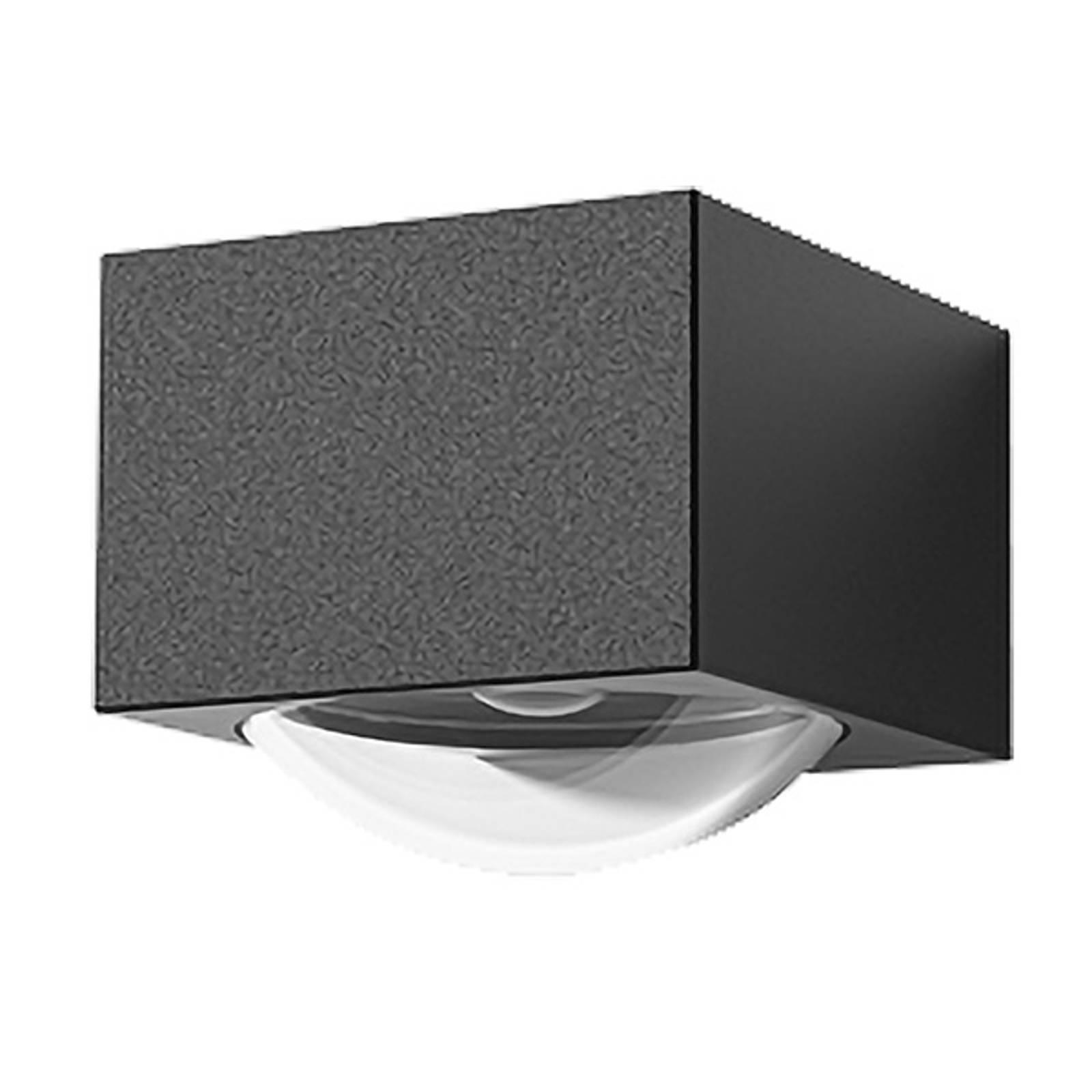 Lucande Almos -LED-ulkoseinälamppu, 1-lamppuinen