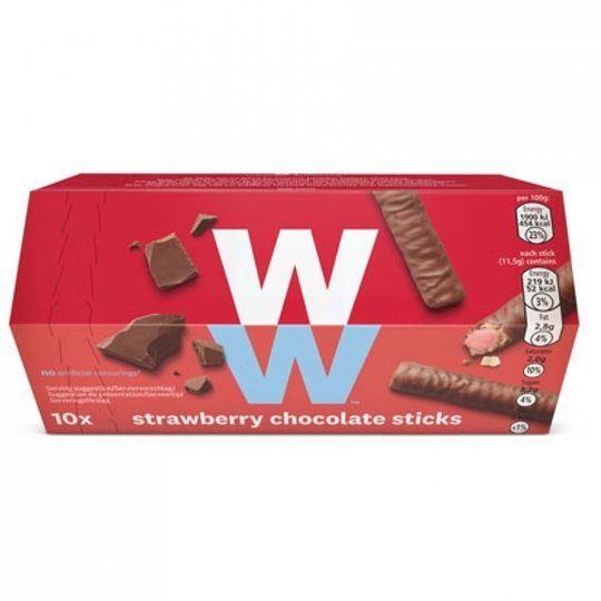Chokladpinnar Jordgubb 10-pack - 66% rabatt
