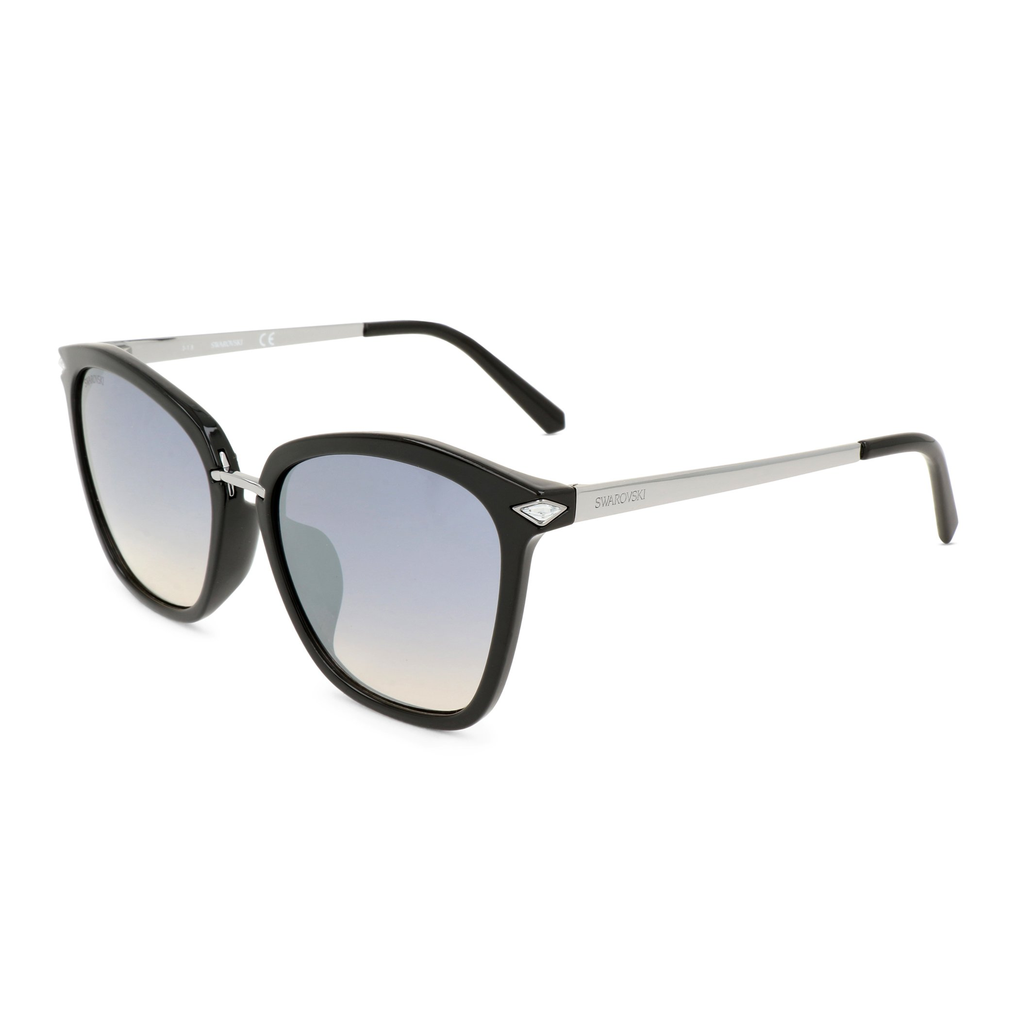 Swarovski Women's Sunglasses Black SK0183-D - black-1 NOSIZE