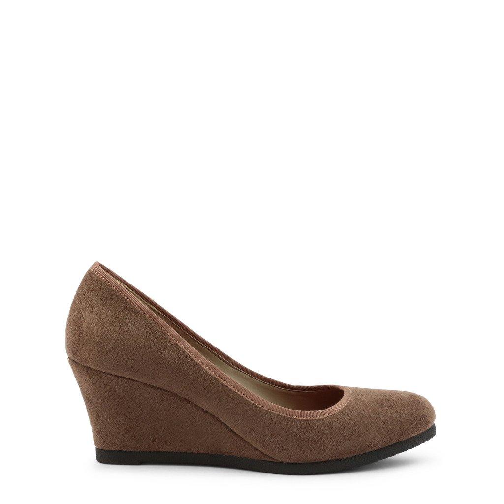 Roccobarocco Women's Wedges Shoe Brown 342946 - brown EU 37