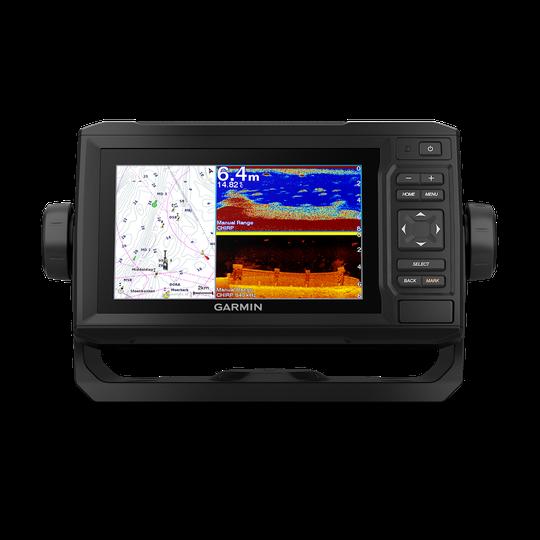 Garmin ECHOMAP 62cv UHD kombienhet med GT24UHD-TM givare