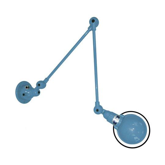 Jieldé Signal SI331 vegglampe 2 lag arm blå