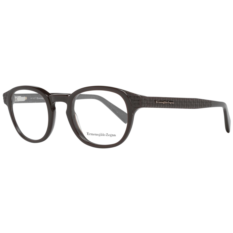 Ermenegildo Zegna Men's Optical Frames Eyewear Brown EZ5108 48050