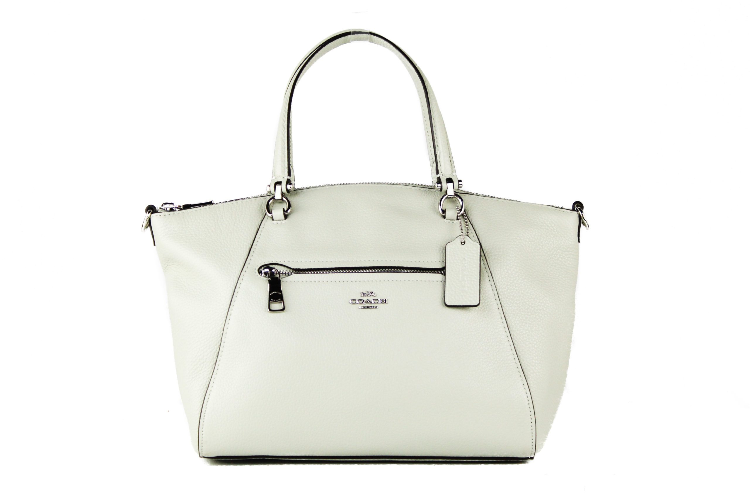 COACH Women's Prairie Satchel Bag White 93877