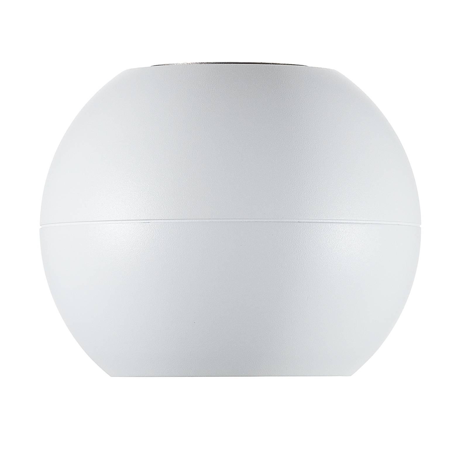 BEGA Studio Line spotti valkoinen/alumiini Ø 14