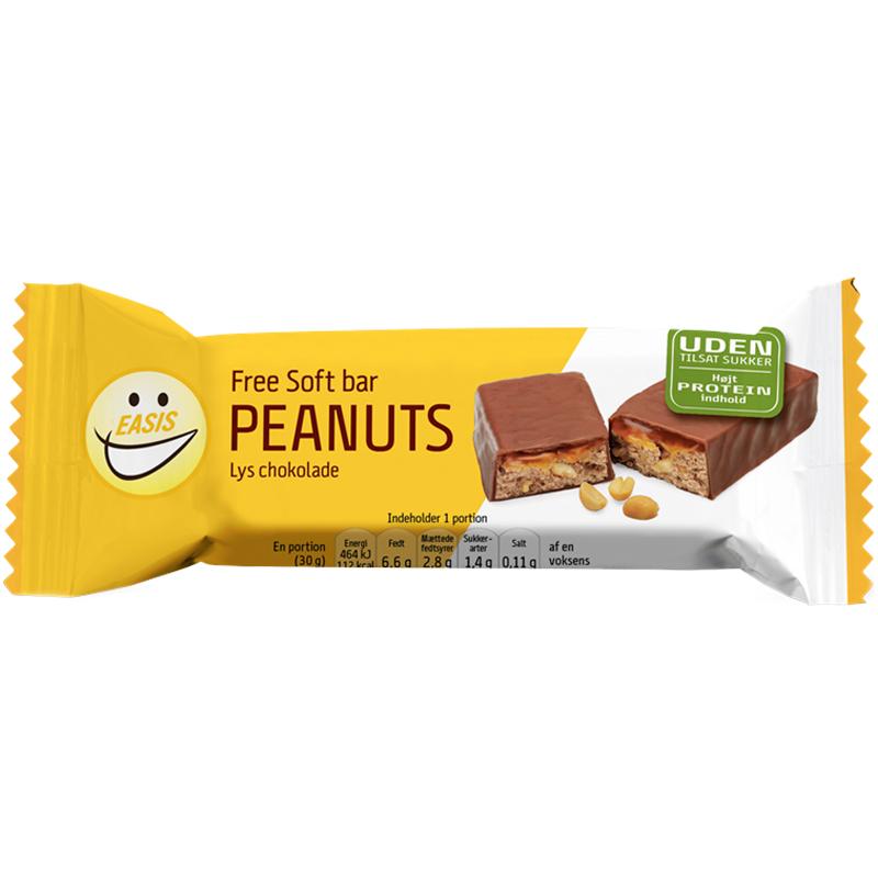 """Proteinbar """"Soft Peanut"""" 30g - 58% rabatt"""