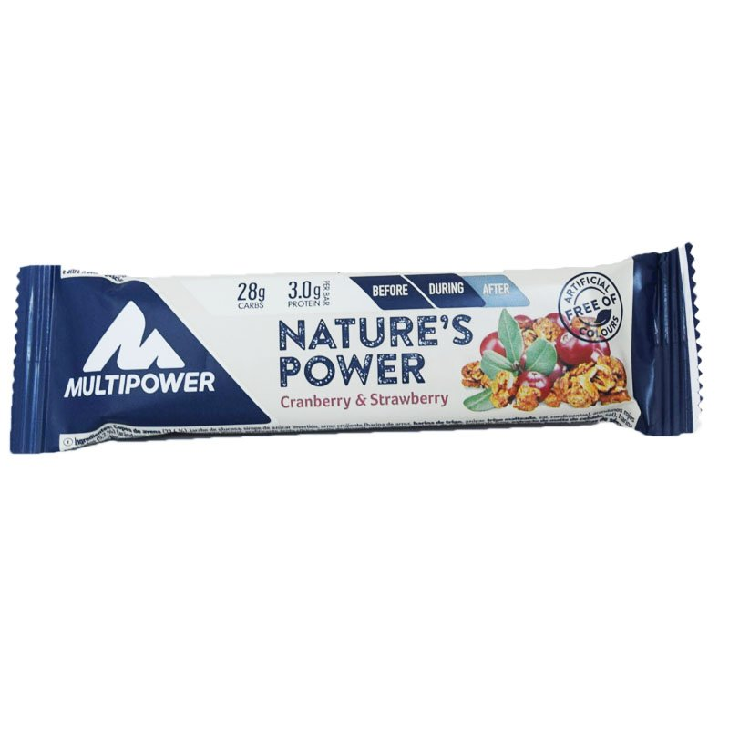 "Proteiinipatukka ""Cranberry & Strawberry"" 40 g - 67% alennus"