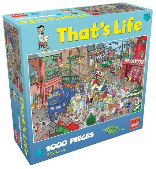 Goliath Games Puslespill That's Life - Paris 1000 Brikker