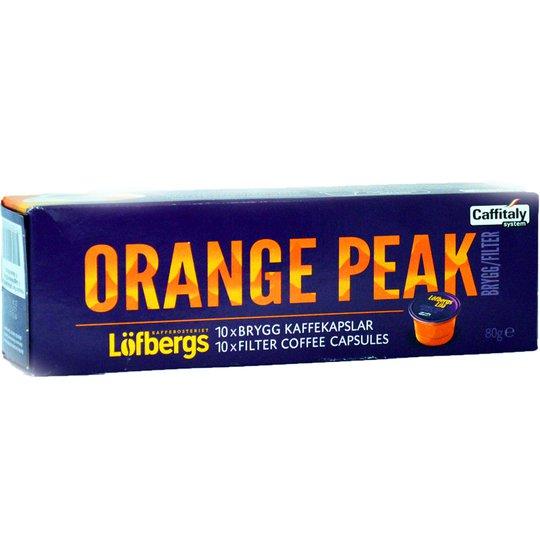 "Kaffekapslar ""Orange Peak"" - 37% rabatt"