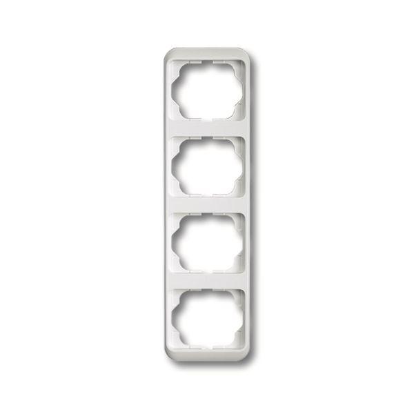 ABB 1754-0-1868 Peitekehys vaakasuora, valkoinen 4-paikkainen