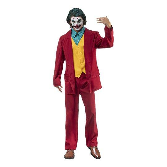 Mr Crazy Clown Maskeraddräkt - Medium