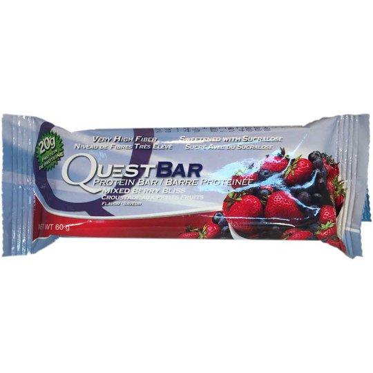 Questbar Mixed berries - 87% rabatt