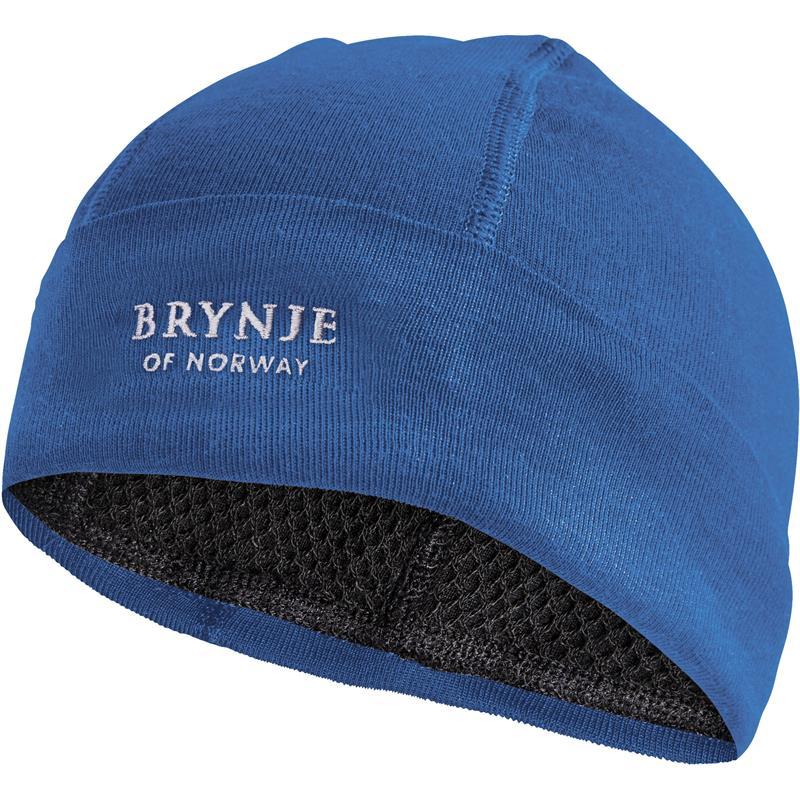 Brynje Arctic Hat Original sky blue S Lue med netting på innsiden