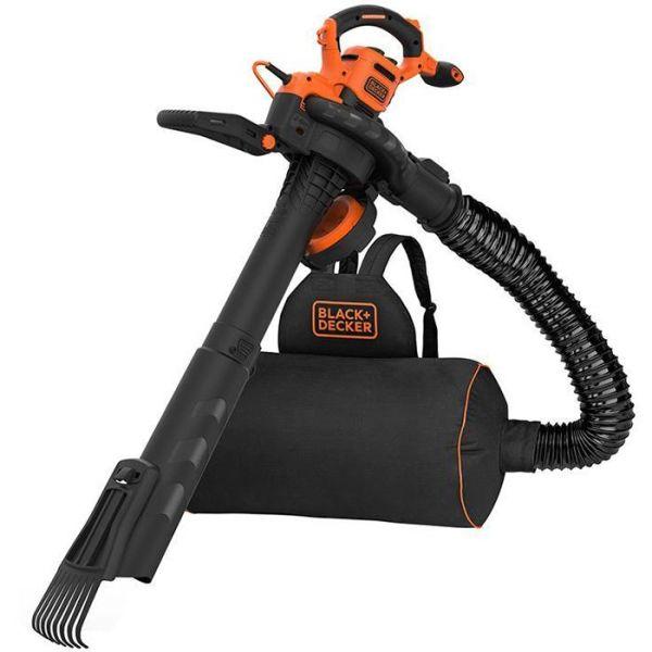 Black & Decker BEBLV301-QS Løvblåser med rake
