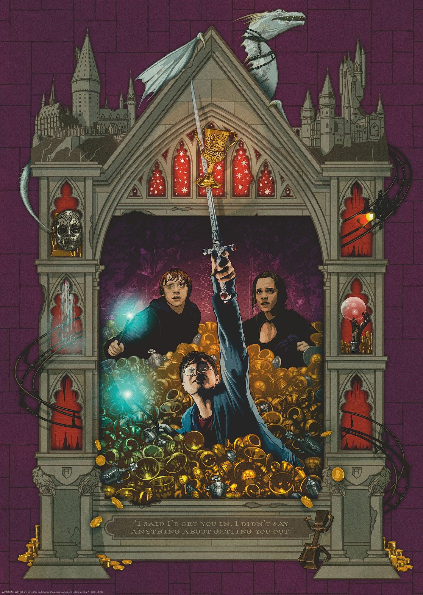 Ravensburger Pussel Harry Potter Dödsrelikerna Del 2 1000 Bitar