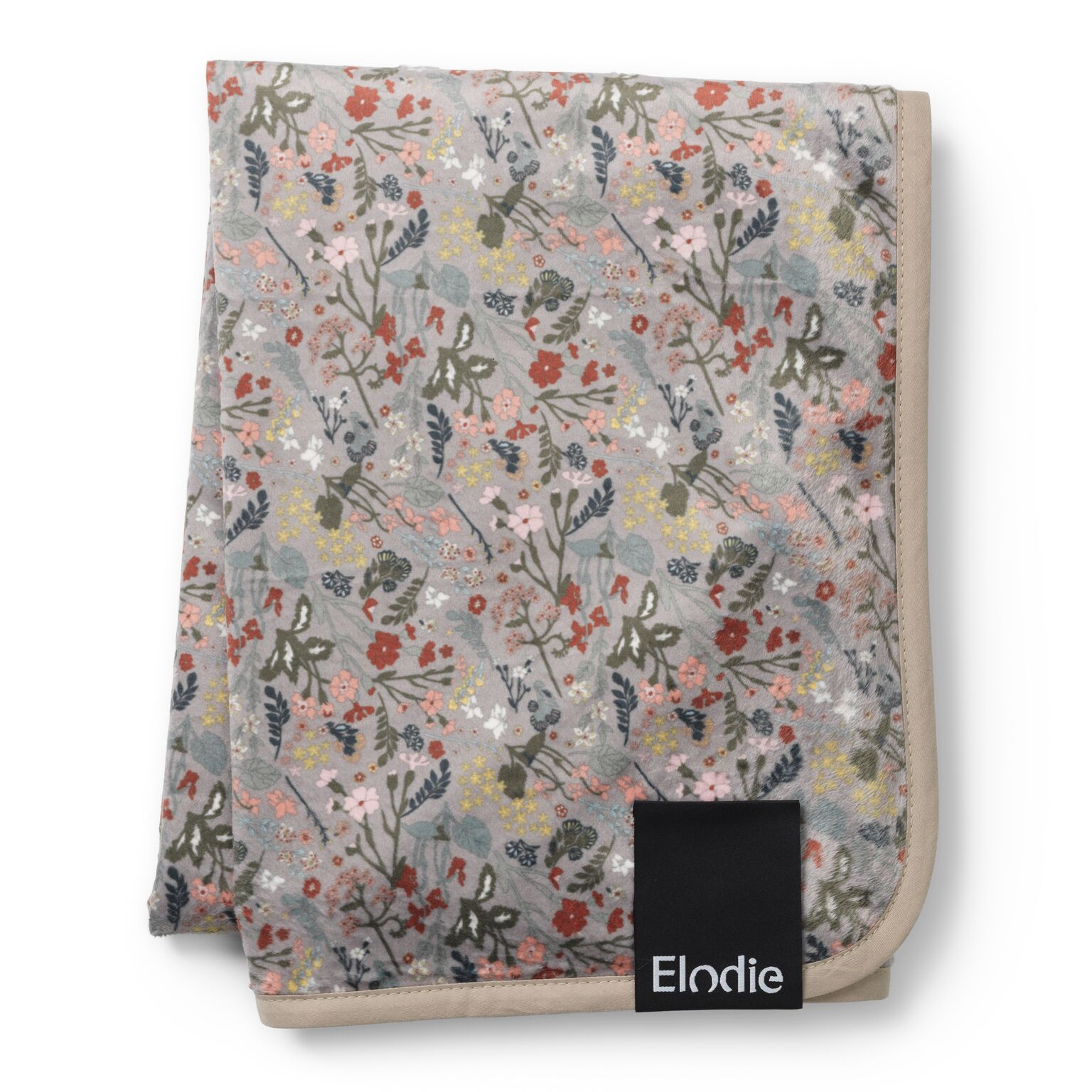 Elodie Details - Velvet Blanket - Vintage Flower