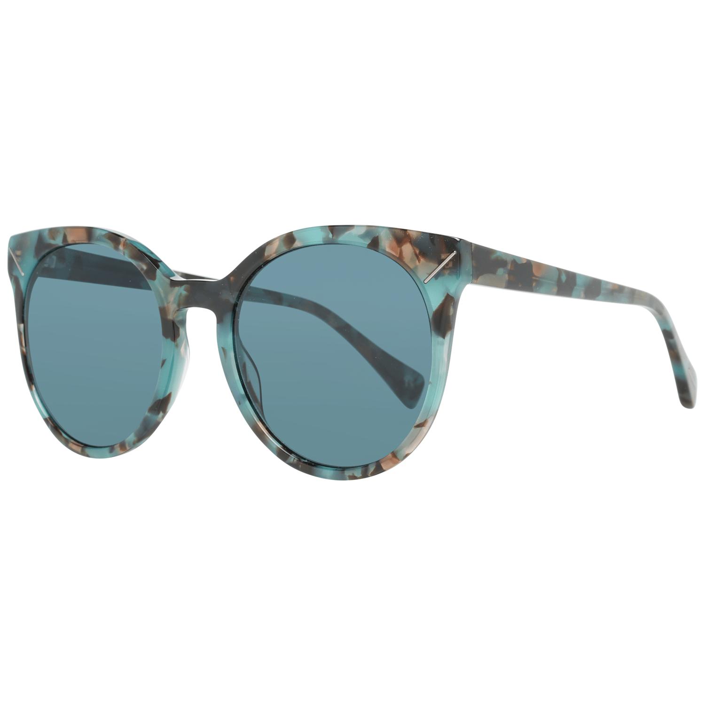 Yohji Yamamoto Women's Sunglasses Green YS5003 54644