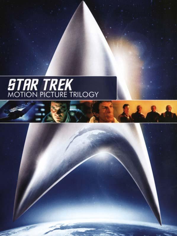 Star Trek: Motion Picture Trilogy (3 disc) - DVD