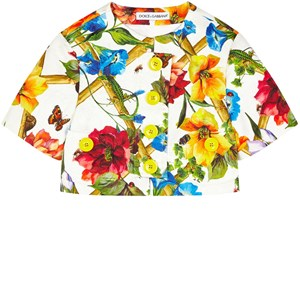 Dolce & Gabbana Mini Me short cut printed brocade jacket 6 år