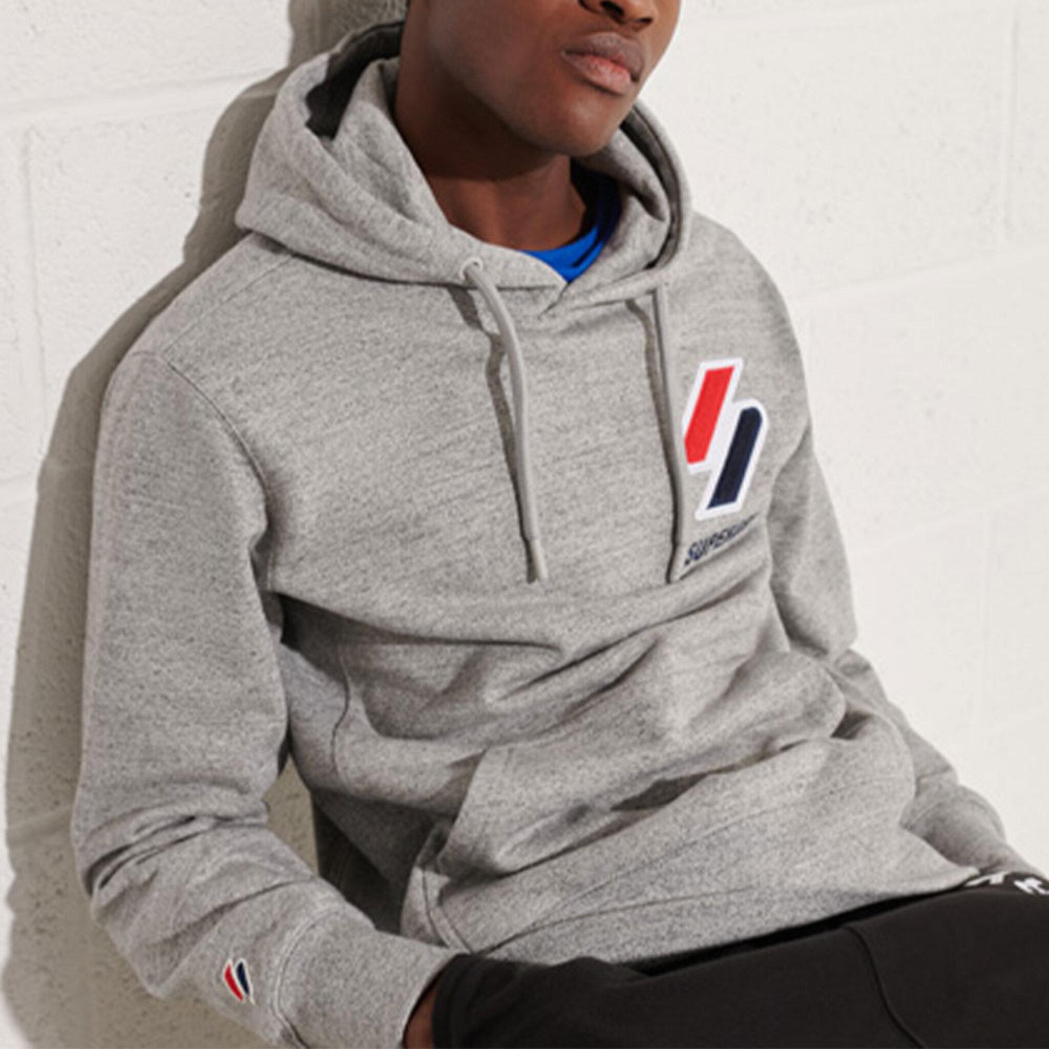 Sportstyle Applique Hood Sweatsshirt