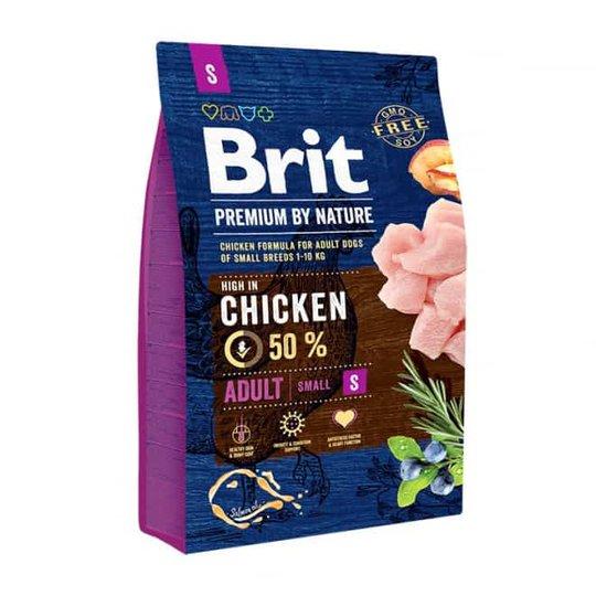 Brit Premium By Nature Dog Adult Small Chicken (3 kg)